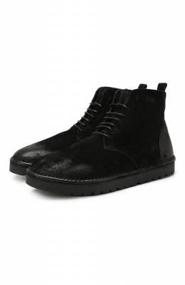 Замшевые ботинки Marsell MMG131/DR0M R0VESCI0