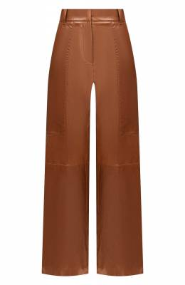 Кожаные брюки Brunello Cucinelli MPALBP7037