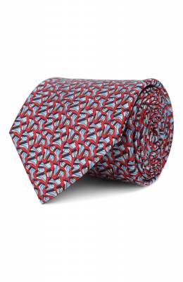 Шелковый галстук Zilli 50245/TIES
