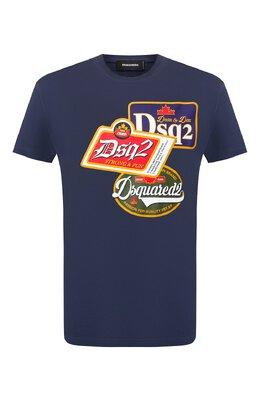 Хлопковая футболка Dsquared2 S74GD0581/S21600
