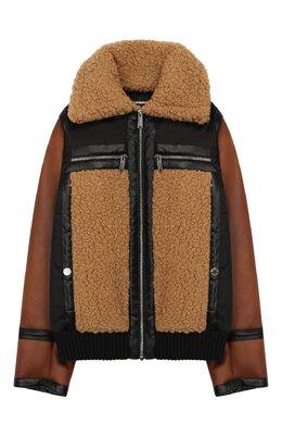 Куртка из эко-меха Dsquared2 DQ03LW-D00VX