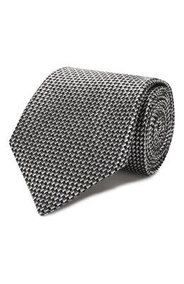Шелковый галстук Brioni 062I00/P9472