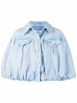 Vivetta укороченная джинсовая куртка оверсайз O0116016