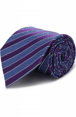 Шелковый галстук с узором Ermenegildo Zegna Z2E65/1XW