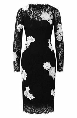 Кружевное платье Dolce&Gabbana F6VB8Z/HLMCK