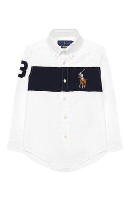 Рубашка с воротником button down Ralph Lauren 321745202