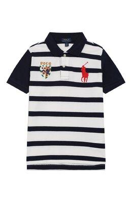 Хлопковое поло Polo Ralph Lauren 321737849
