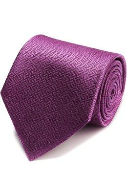 Шелковый галстук с узором Ermenegildo Zegna Z9E681XW