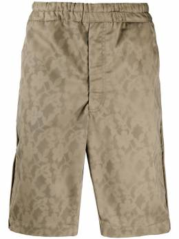 Comme Des Garcons Shirt шорты с цветочным принтом S28135