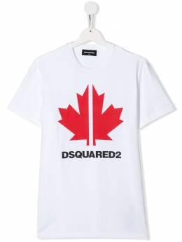 Dsquared2 Kids футболка с логотипом DQ03WDD00X4