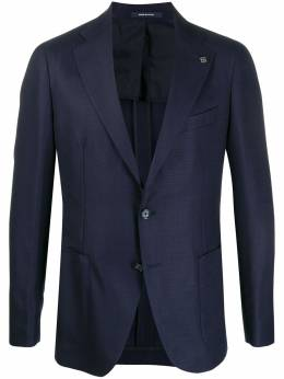 Tagliatore фактурный пиджак узкого кроя 1SVS22K06UEG307