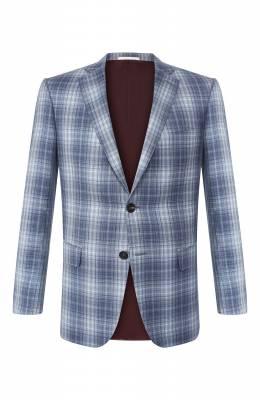 Пиджак из смеси шерсти и шелка Pal Zileri 032XV22-2--53923