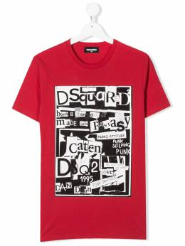 Dsquared2 Kids футболка с принтом DQ03XWD00W5