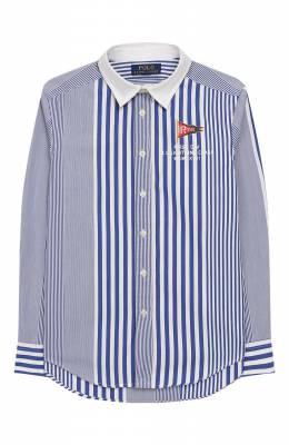 Хлопковая рубашка Polo Ralph Lauren 321737263