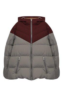 Пуховая куртка с капюшоном Brunello Cucinelli BB4593816G