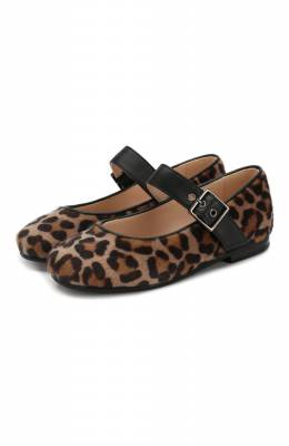 Туфли с ремешком Il Gufo G395/TESS. GIAGUAR0/27-30
