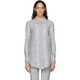 Acne Studios Blue Esophi Shirt AC0223