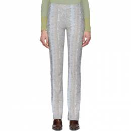 Acne Studios Blue Epauli Trousers AK0266