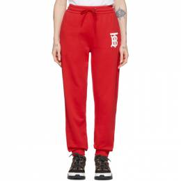 Burberry Red Gresham Lounge Pants 8025654
