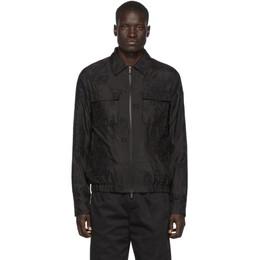 Fendi Black Organza Removable Jacket FW0430 AA8I