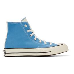 Converse Blue Chuck 70 High Sneakers 166827C
