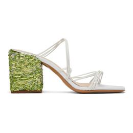 Jacquemus White Les Mules Estello Sandals 201FO11-201 78100