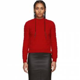 Fendi Red Forever Fendi Embossed Sweater FZY875 A9WF