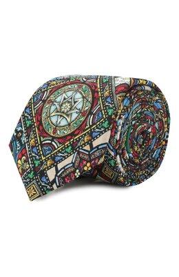 Шелковый галстук Dolce&Gabbana GT149E/G0TDG