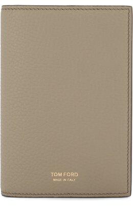 Кожаная обложка для паспорта Tom Ford Y0252T-C95