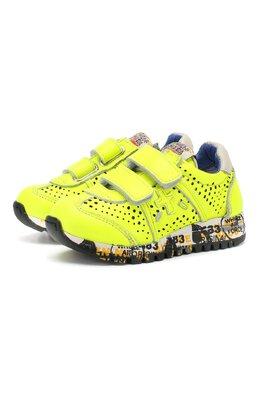 Кожаные кроссовки с застежками велькро Premiata Will Be LUCY V/1104/T0D