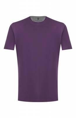 Хлопковая футболка Brunello Cucinelli M0T617423