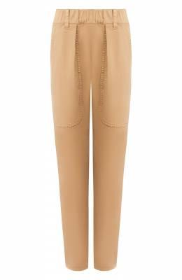 Хлопковые брюки Brunello Cucinelli MA081P5509