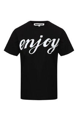 Хлопковая футболка MCQ by Alexander McQueen 473705/RNH50