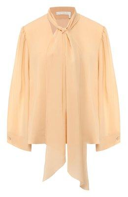 Шелковая блузка Chloe CHC20SHT37002