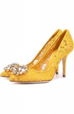 Текстильные туфли Rainbow Lace Dolce&Gabbana 0112/CD0101/AL198