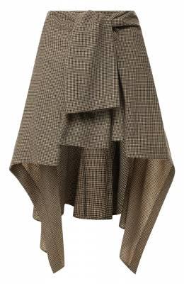 Шерстяная юбка Chloe CHC19WJU05163