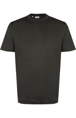 Хлопковая футболка с круглым вырезом Brioni UJ6Z0L/PZ600