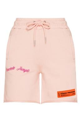 Розовые шорты с вышивкой Heron Preston 2771184995