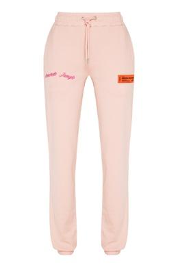 Спортивные брюки розового цвета Heron Preston 2771184999
