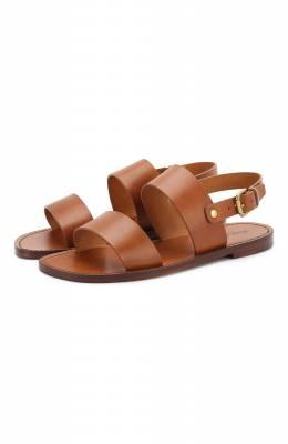 Кожаные сандалии Ralph Lauren 815744321