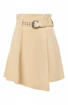 Кожаная юбка Chloe CHC20SCJ15201