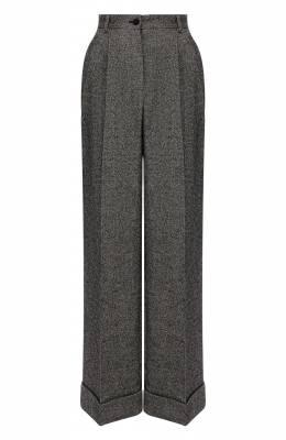 Шерстяные брюки Dolce&Gabbana FTBMPT/FMRAX