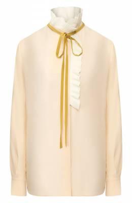 Шелковая блузка Chloe CHC20SHT29004