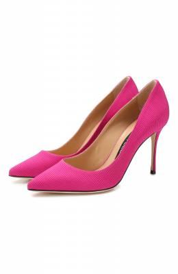 Текстильные туфли Sergio Rossi A43843-MTEZ78