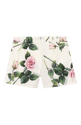 Хлопковые шорты Dolce&Gabbana L52Q24/HS5GG/2-6