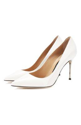 Кожаные туфли Sergio Rossi A85361-MVIV01