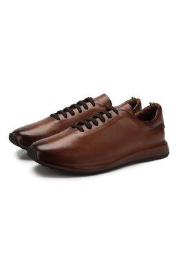Кожаные кроссовки Officine Creative RACE/017/AER0 BUTTER0