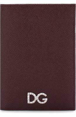 Кожаная обложка для паспорта Dolce&Gabbana BI2215/AU771