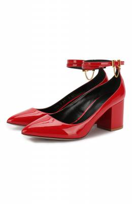 Кожаные туфли Valentino Garavani Tiny Chain Valentino SW0S0S39/VNE