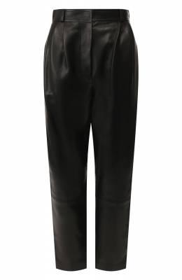 Кожаные брюки Alexander McQueen 610858/Q5AC2